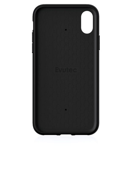 EVUTEC - Evutec Aergo With Afix Case Black For iPhone X