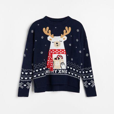 Reserved - Ladies' Sweater - Navy