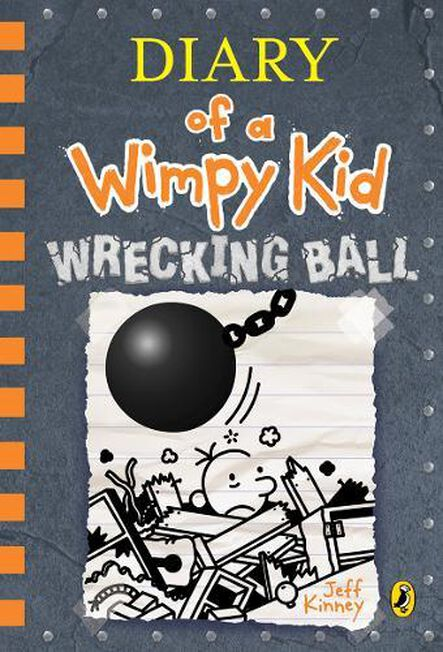 PENGUIN BOOKS UK - Diary of a Wimpy Kid Wrecking Ball (Book 14)