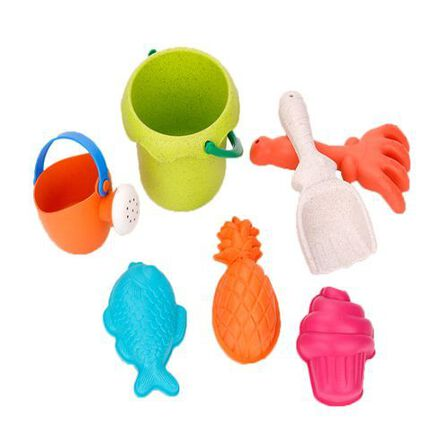 ROLL UP KIDS - Roll Up Kids Beach Toy with 2 Buckets [Set of 7]