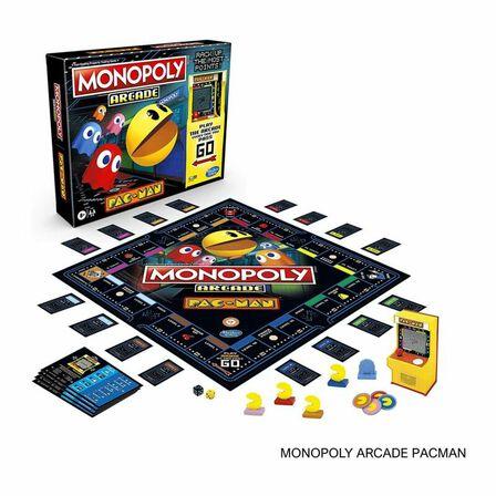 HASBRO - Hasbro Monopoly Arcade Pacman