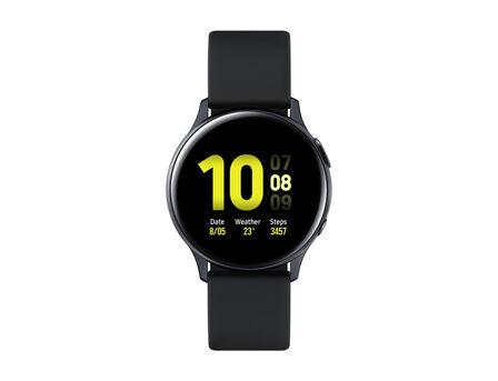 SAMSUNG - Samsung Galaxy Watch Active 2 40mm Aluminium Black