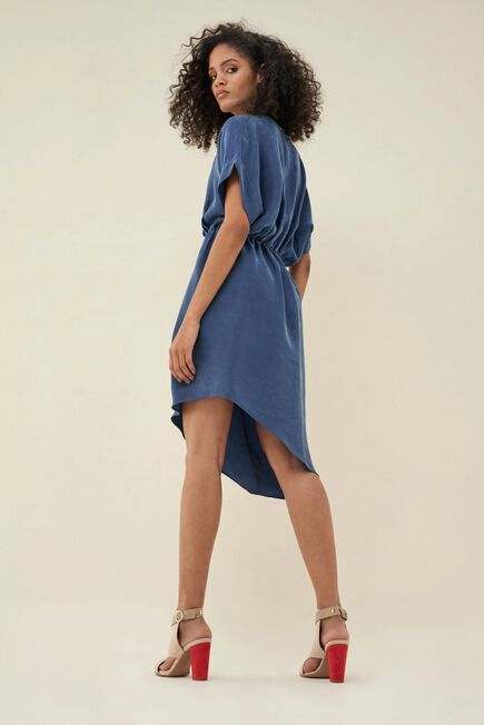 Salsa Jeans - Blue Crossover dress