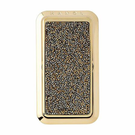 HANDL NEW YORK - Handl New York Crystal Grip & Stand Gold for Smartphones