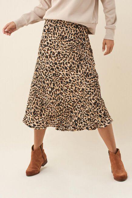 Salsa Jeans - Beige Tigress medium skirt