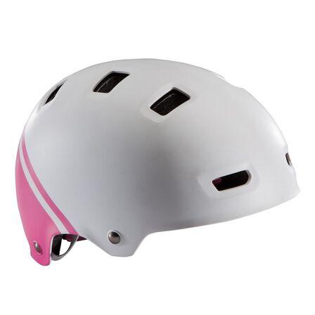 BTWIN - Medium  Teen 520 Cycling Helmet - Neon, White