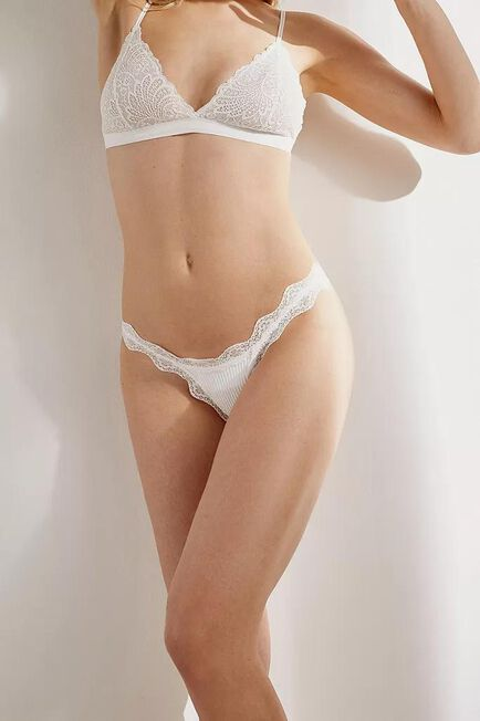 Urban Outfitters - WHT Out From Under Ariella Thong