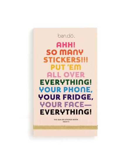 BAN.DO - ban.do Sticker Book Issue Five