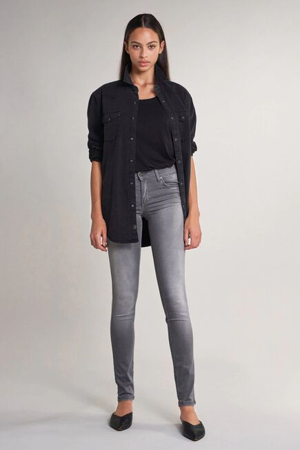 Salsa Jeans - Gray Push up jeans with skinny leg