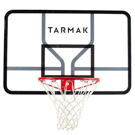 TARMAK - Kids/Adult Wall-Mounted Basketball Hoop SB700  - Quality Backboard