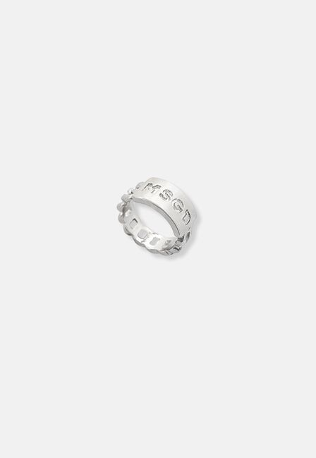 Missguided - Silver Missguided Chain Ring