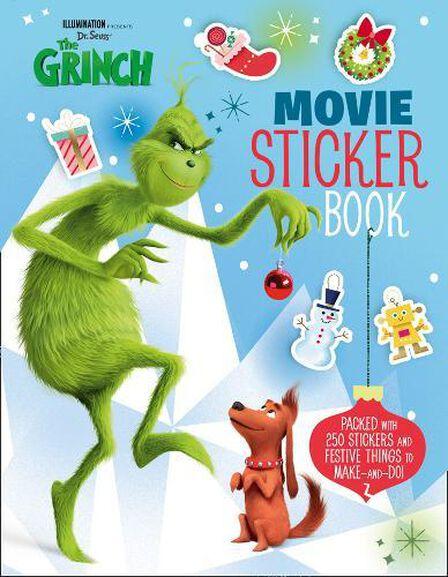 HARPER COLLINS UK - The Grinch Movie Sticker Book Movie tie-in