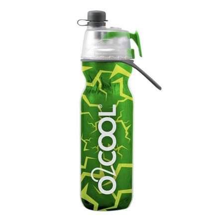 O2COOL - O2Cool Classic Elite Mist N Sip Insulated Articsqueeze 20 oz Marble Green
