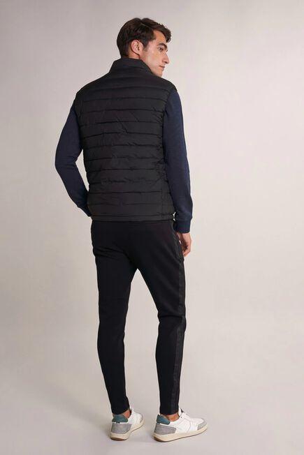 Salsa Jeans - Black Thermolite reversible puffer waistcoat
