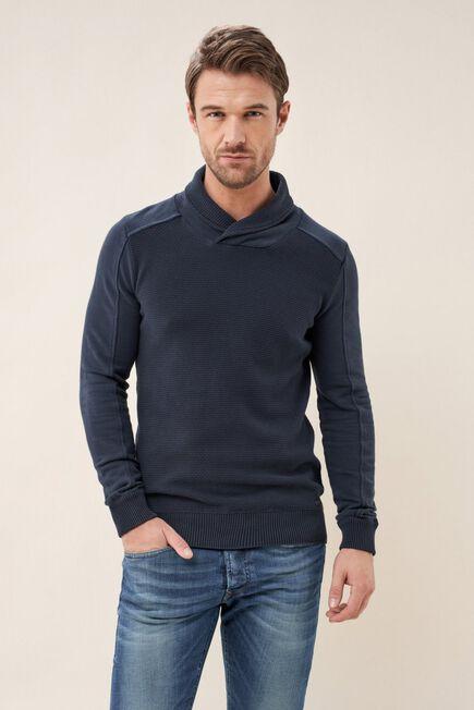Salsa Jeans - Blue High-neck sweater