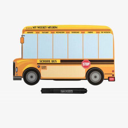LEGAMI - Legami Something To Remember Magnet Board School Bus