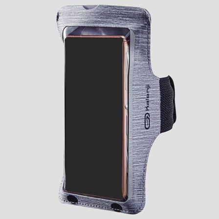 KALENJI - Large Smartphone Running Armband - Zinc Grey