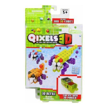 QIXELS - Qixels S3 3D Refill Pack Alien Strikers