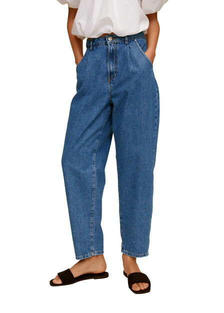 Mango - Open blue Dart slouchy jeans