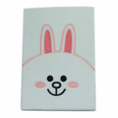 BLUEPRINT COLLECTIONS - Line Friends Plush Notebook Cony