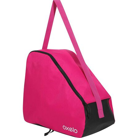 OXELO - 20L Play Kids' Inline Skate Bag - Magenta