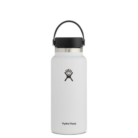 HYDRO FLASK - Hydro Flask Vacuum Bottle White Wide Mouth 950ml