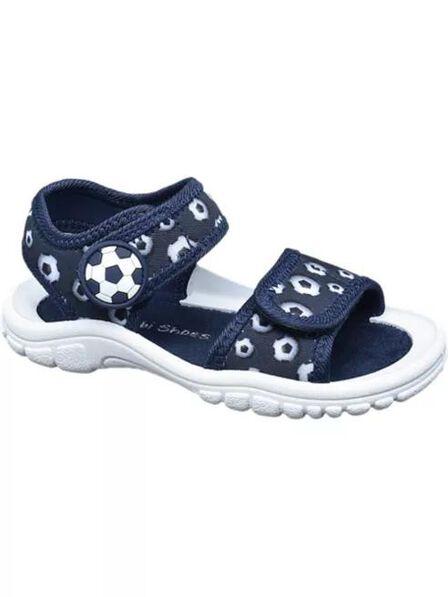 Bobbi-Shoes - Navy Summer Sandals, Baby Boy