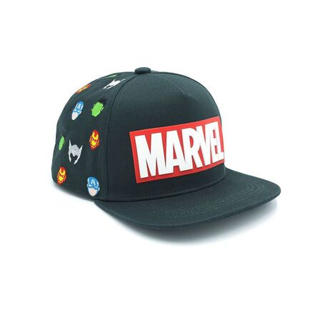 FABRIC FLAVOURS - Fabric Flavours Marvel Kids Cap Green
