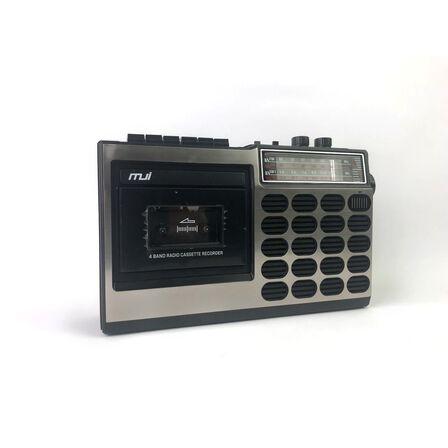 MJI - MJI Retro-Style All In One Cassette Player + Radio