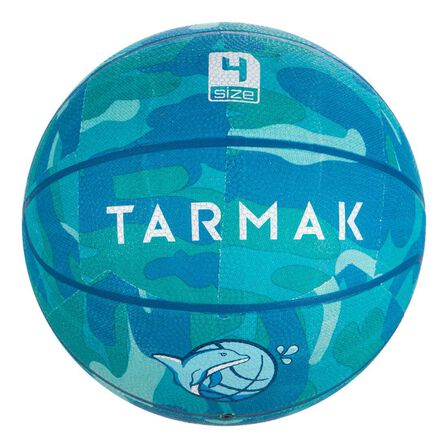 TARMAK - Unique Size  Kids' (up to 7) Beginner Basketball K500, Turquoise
