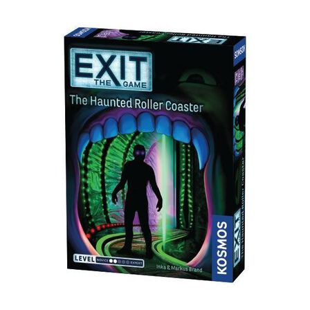 KOSMOS GAMES - Exit The Haunted Roller Coaster Game [English]