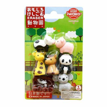 IWAKO - Iwako Zoo Eraser