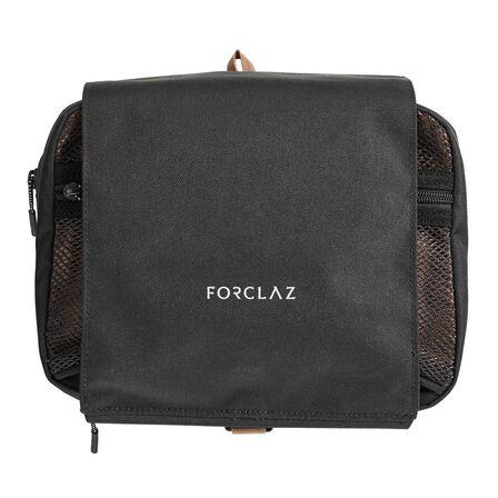 FORCLAZ - Travel Trekking Wash Bag Travel - Black