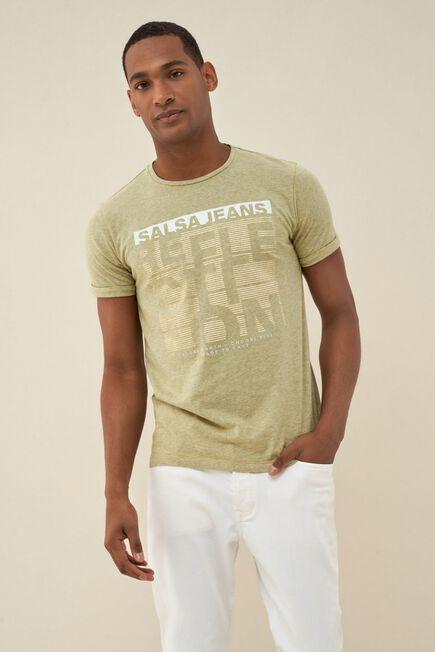 Salsa Jeans - Yellow Cotton t-shirt