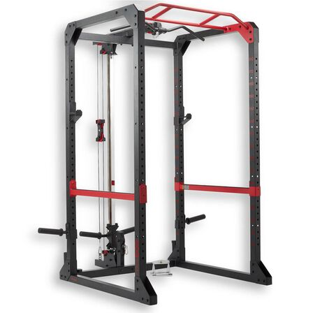 DOMYOS - Unique Size  Weight Training Rack Chin-up / Squat / Bench Press / Back Pull, Default
