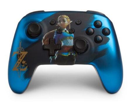POWERA - BDA 1513096-01 Gaming Controller Gamepad Nintendo Switch Bluetooth Blue