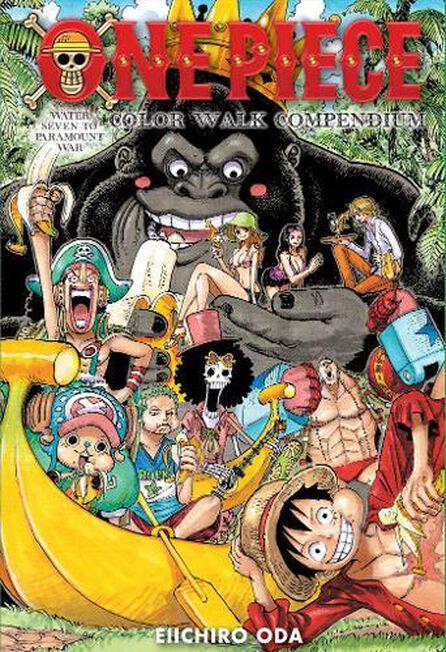 VIZ MEDIA - One Piece Color Walk Compendium Water Seven to Paramount War