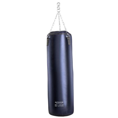 OUTSHOCK - Unique Size  Boxing Punching Bag 120 - Blue, Asphalt Blue