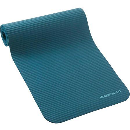 NYAMBA - Unique Size  Comfort Pilates Floor Mat Size S 170 cm x 55 cm x 10 mm, Dark Petrol Blue