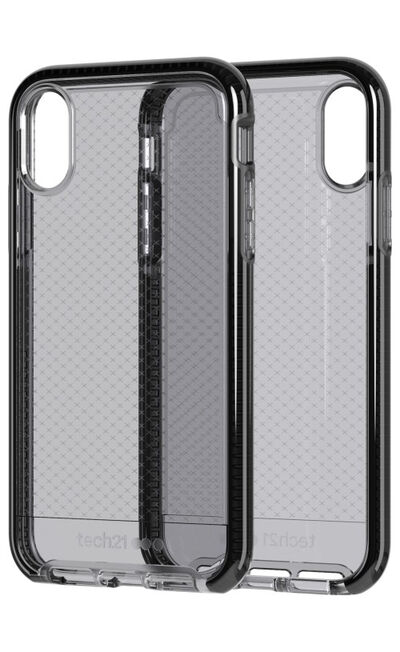 TECH21 - Tech21 Evo Check Case Smokey/Black for iPhone XR