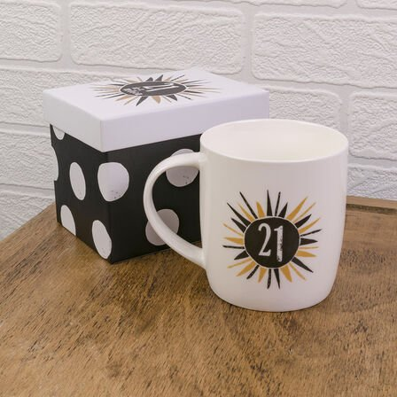 REALLY GOOD GIFTS - The Bright Side 21 In A Million Mug