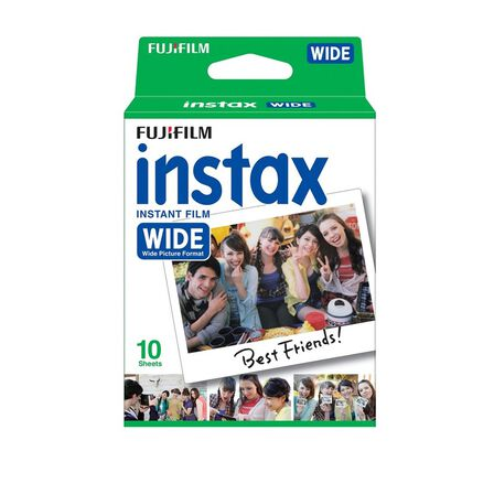 FUJIFILM - Fujifilm Instax Wide Film Single Pack [10 Sheets]