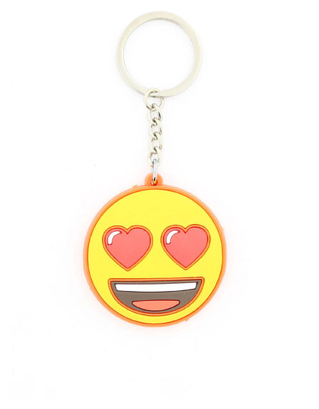EMOJI - Emoji Heart Eyes Face Keychain