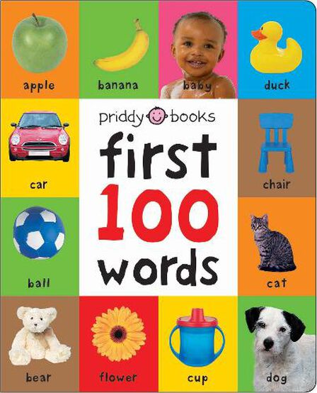 PRIDDY BOOKS UK - First 100 Soft To Touch Words (Large Ed)