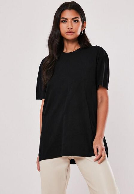 Missguided - Black Vintage Minnie And Mickey Graphic T Shirt