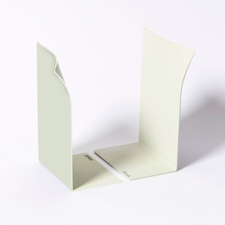 BLOCK - Block Page Book Ends White