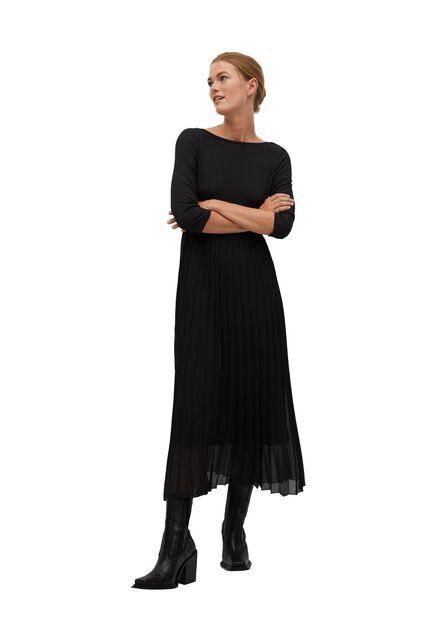 Mango - black Pleated skirt dress
