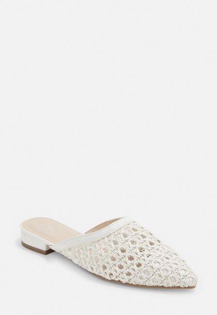 Missguided - RAFIA WOVEN CLOSED TO