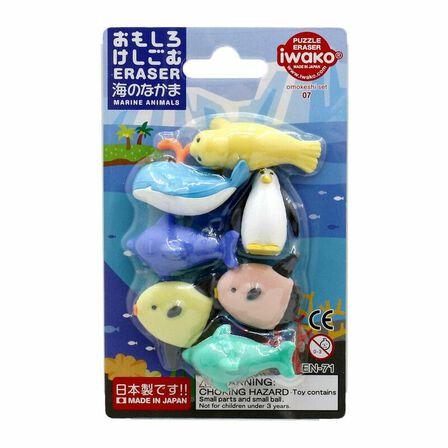 IWAKO - Iwako Marine Animals Eraser