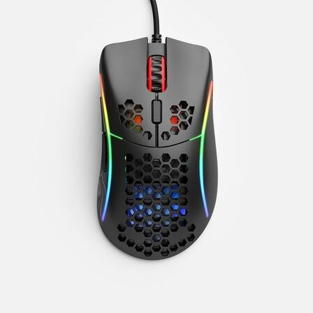 GLORIOUS PC GAMING RACE - Glorious Gaming Model D Minus Glossy Black Gaming Mouse